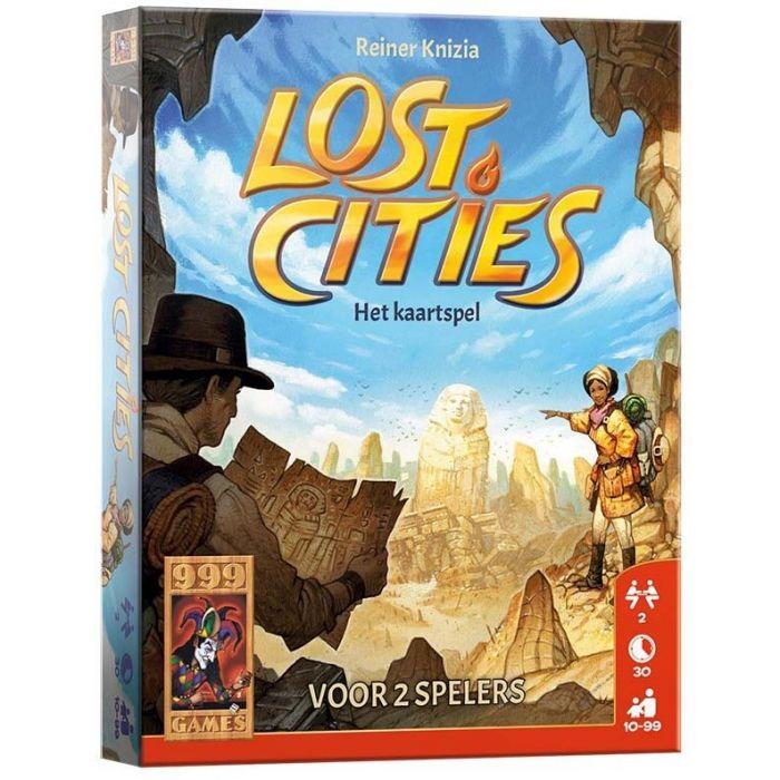 Spel Lost Cities Het Kaartspel