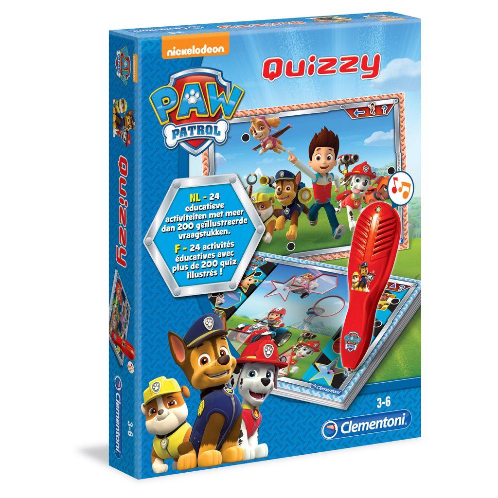 Geef antwoord op de leukste vragen met het Spel Quizzy Paw Patrol