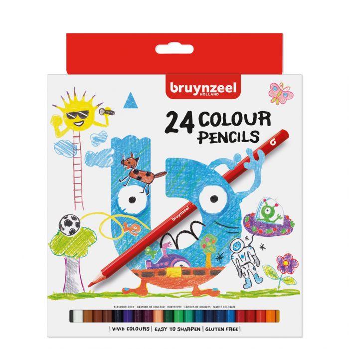 Kleurpotloden Bruynzeel 24 Stuks