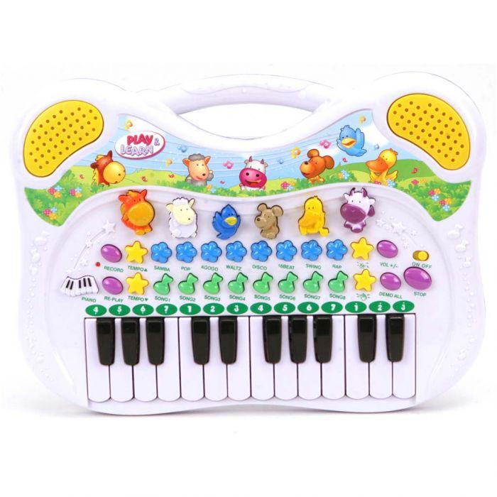 Dieren Piano Met Opneem Functie