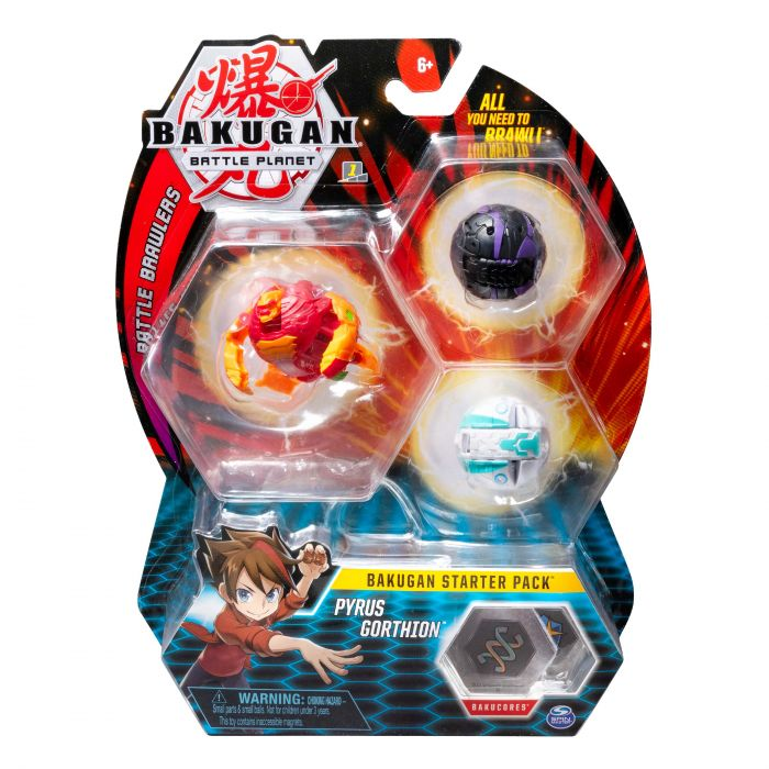 Bakugan Starter Pack Assorti