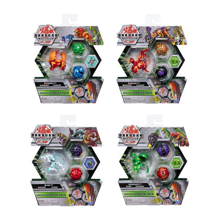Bakugan S2.0 Starter 3 Pack Assorti