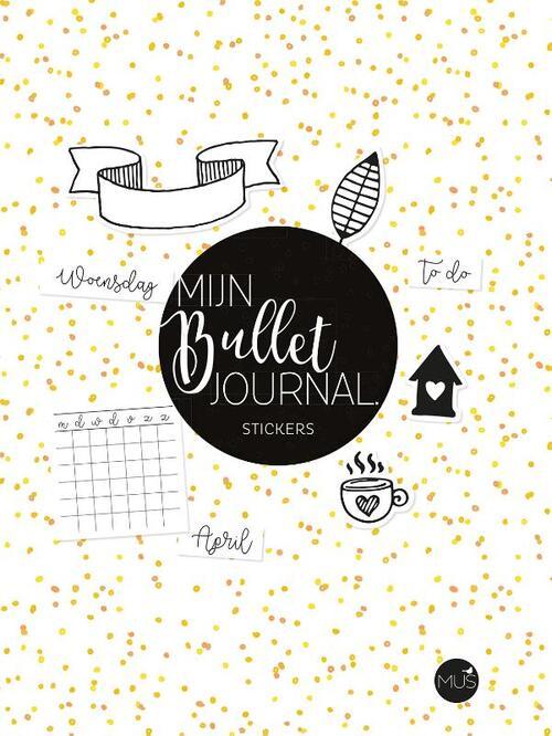 Mijn bullet journal stickers