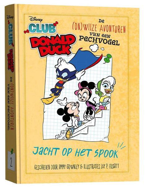 Club Donald Duck Jacht op het spook