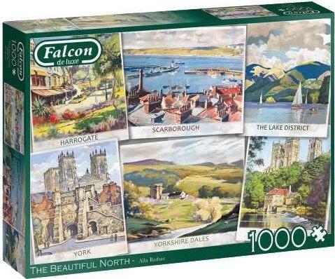 Falcon The Beautiful North 1000 stukjes
