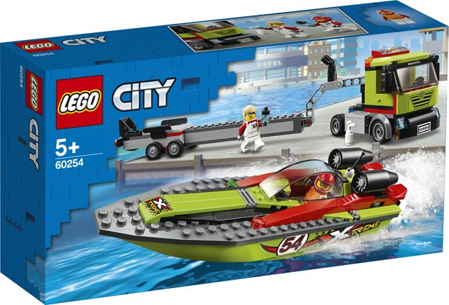 LEGO City 60254 Raceboottransport