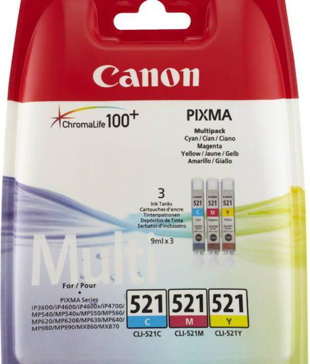 Canon Pixma 521 Multipack