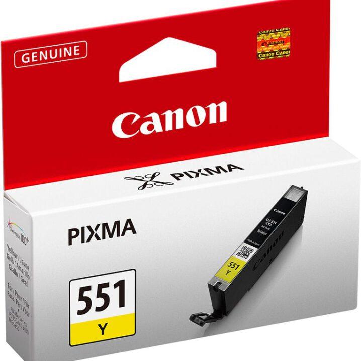 Canon Pixma 551 yellow