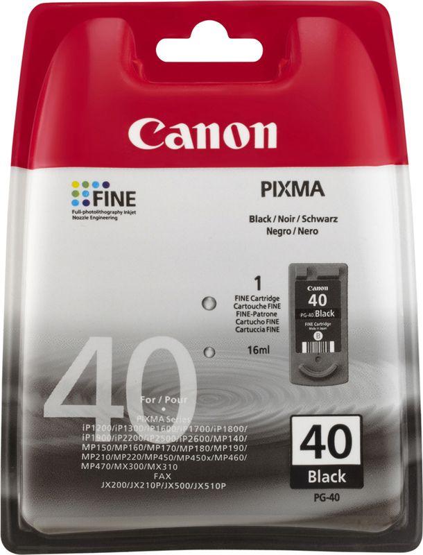 Canon Pixma 40 Zwart
