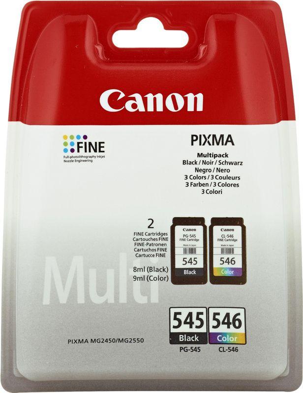 Canon Pixma 545 Zwart + 546 Kleur