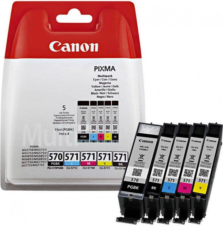 Canon Pixma 570 + 571 Multipack