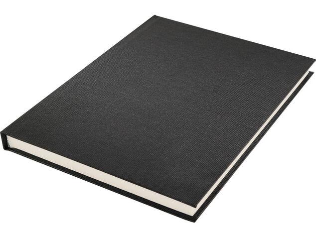 Dummyboek Kangaro A5 blanco 80 vel zwart linnen kaft