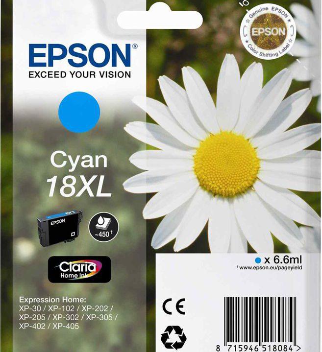 Epson 18 XL Cyan