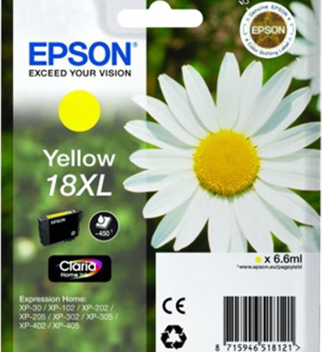 Epson 18 XL Yellow