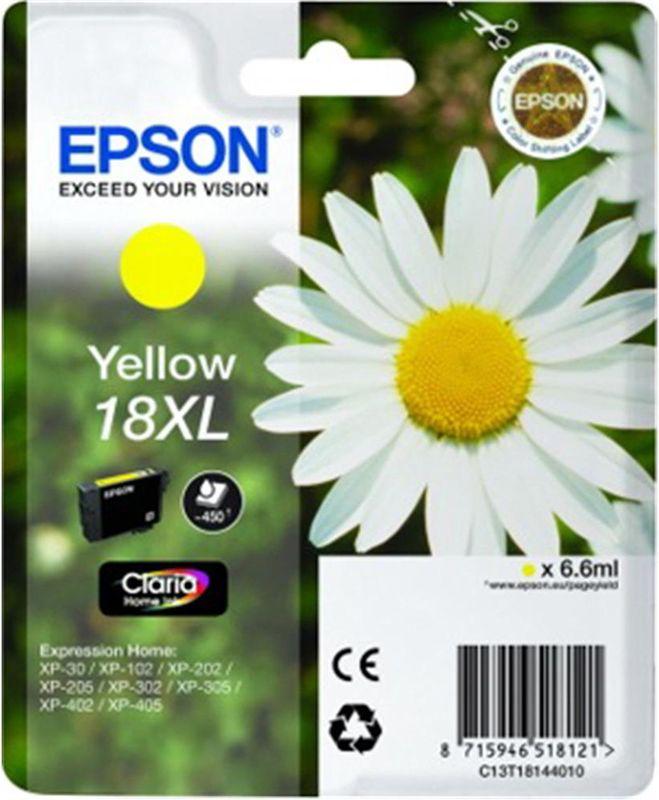 Epson 18 XL Yellow
