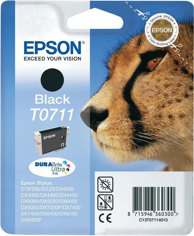 Epson T0711 Zwart