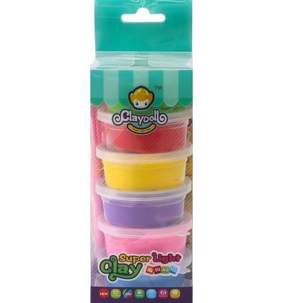 Funny Gummy Airfoam putty Claydoll