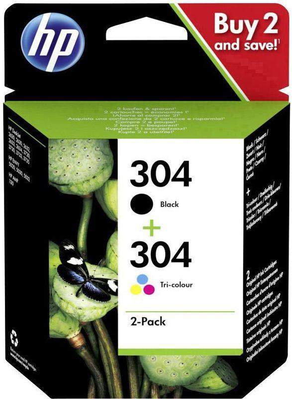 HP 304 Zwart + 304 Kleur