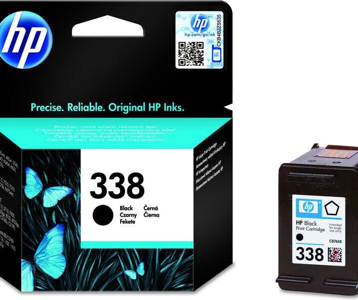 HP 338 Zwart
