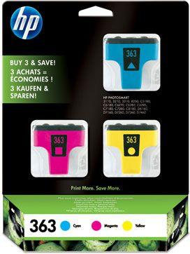 HP 363 Combi -Pack Cyan Magenta Yellow