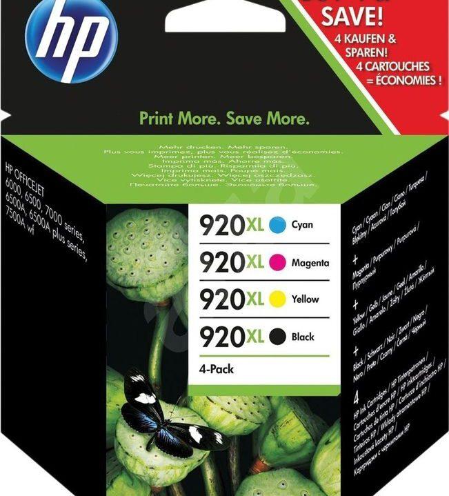 HP 920 XL 4 Pack