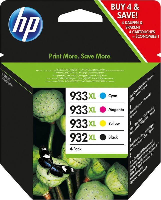 HP 933 XL  4Pack