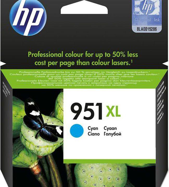 HP 951 XL Cyaan