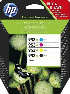 HP 953 XL  Zwart + Kleur