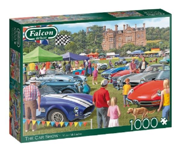 Falcon The Car Show Puzzel 1000 Stukjes