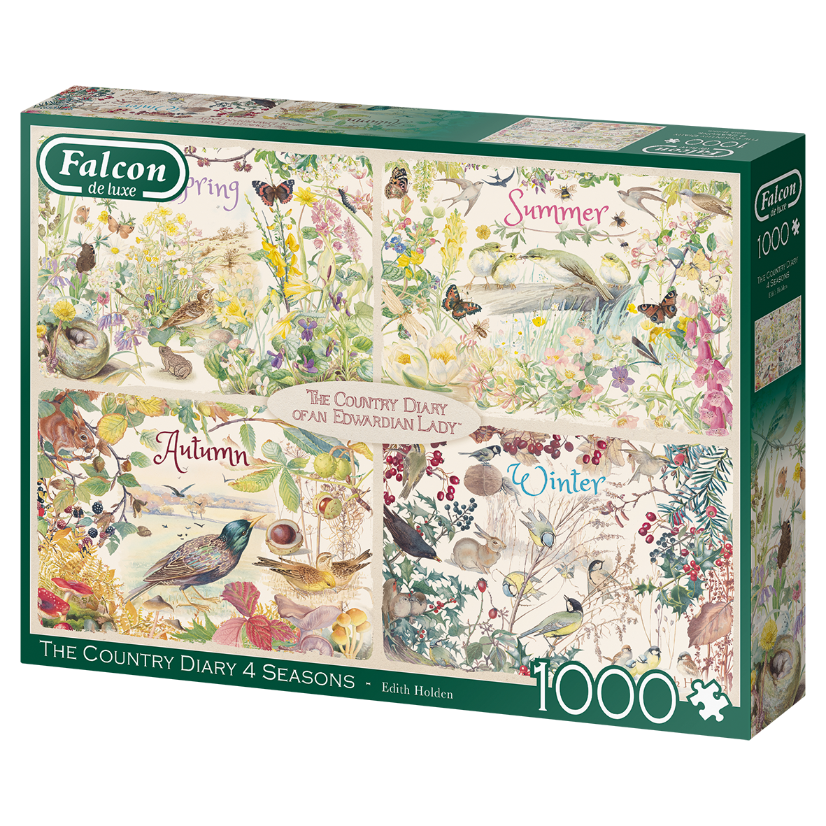 Falcon Country Diary 4 seasons 1000 stukjes