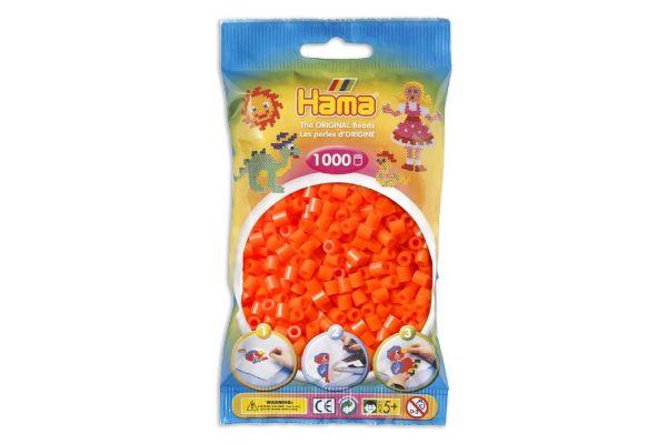 HAMAkralen 1000 stuks- Donker oranje 04