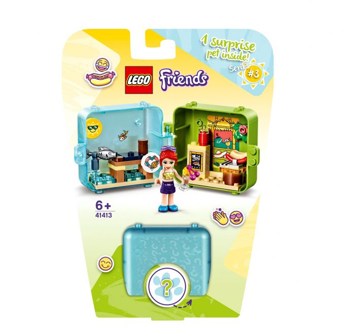 LEGO Friends 41413 Mia's Zomerspeelkubus
