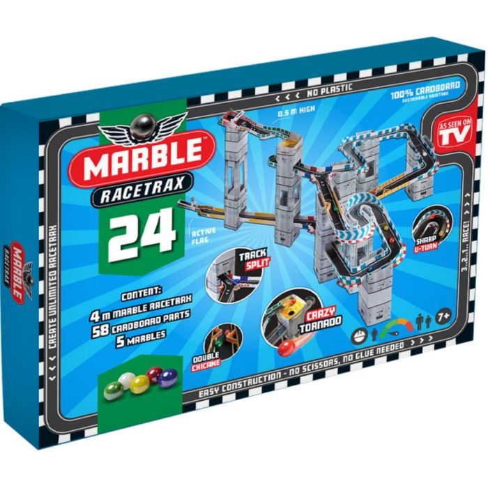 Marble Racetrax Starterset 24 Sheets