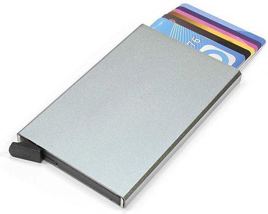 Figuretta Basic Creditcardhouder / RFID Card Protector – 6 Pasjes – Zilver