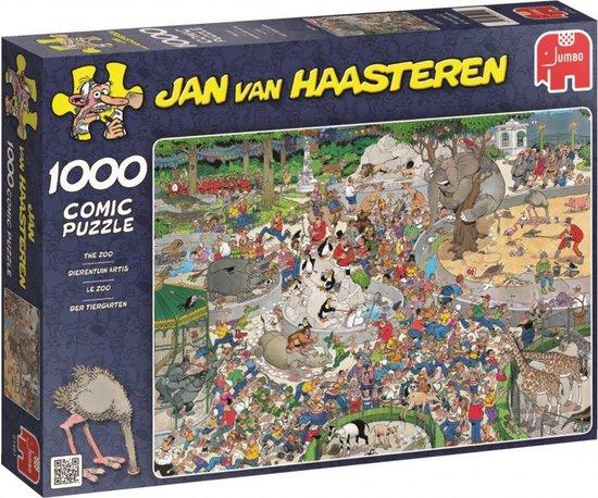 Jan van Haasteren Dierentuin puzzel – 1000 stukjes