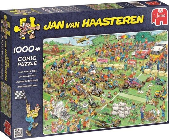 Jan van Haasteren Grasmaaierrace puzzel – 1000 stukjes
