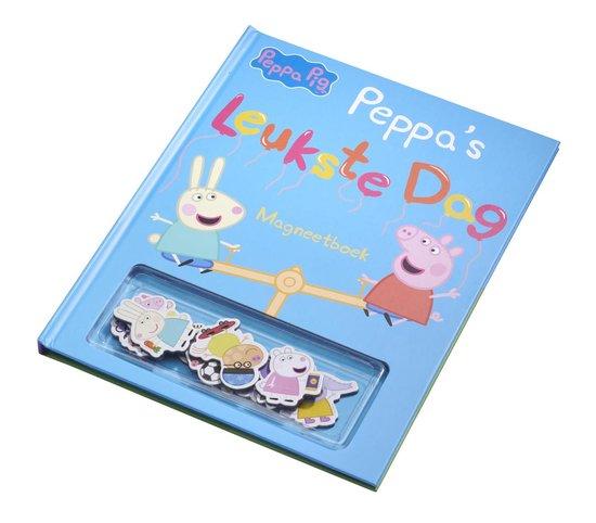 Peppa Pig Leukste dag magneetboek
