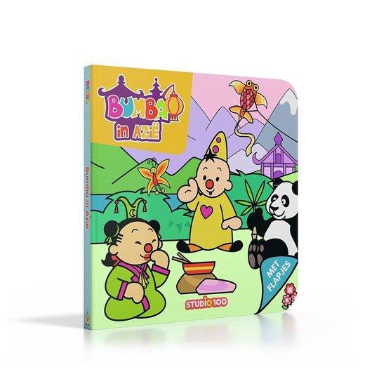 Bumba Flapjesboek Bumba in Azië