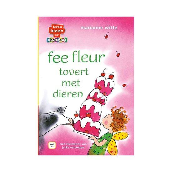 Leren lezen met Kluitman fee fleur tovert met dieren.