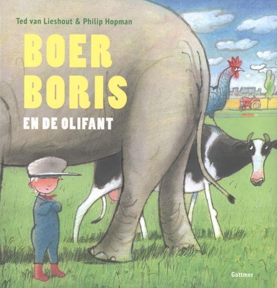 Gottmer Boer Boris en de olifant.