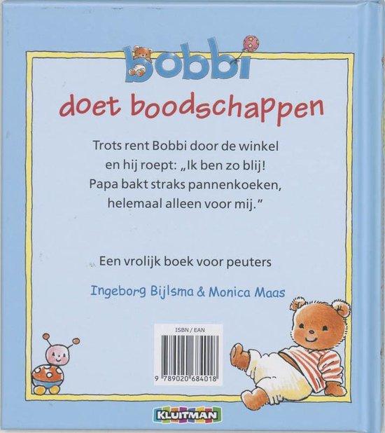 Bobbi doet boodschappen.