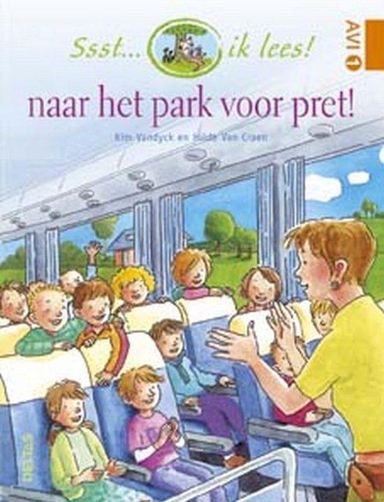 Ssst… ik lees! Naar het park voor pret!