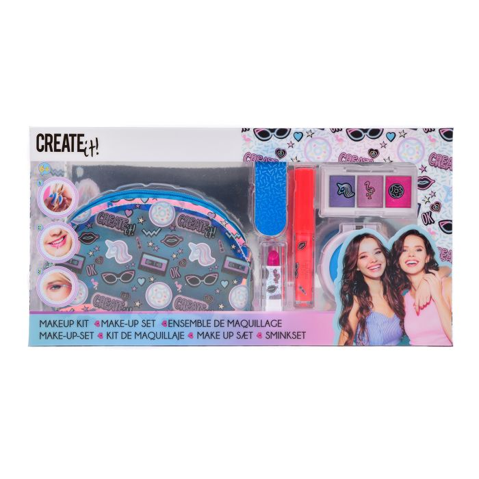 Create It! Make-Up Set Met Tasje Neon