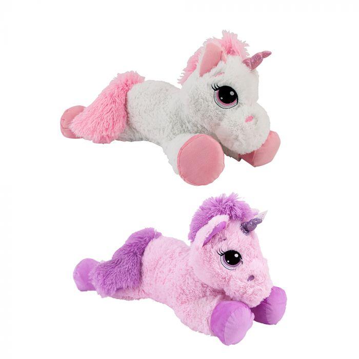 Unicorn Pluche 70 Cm Assorti