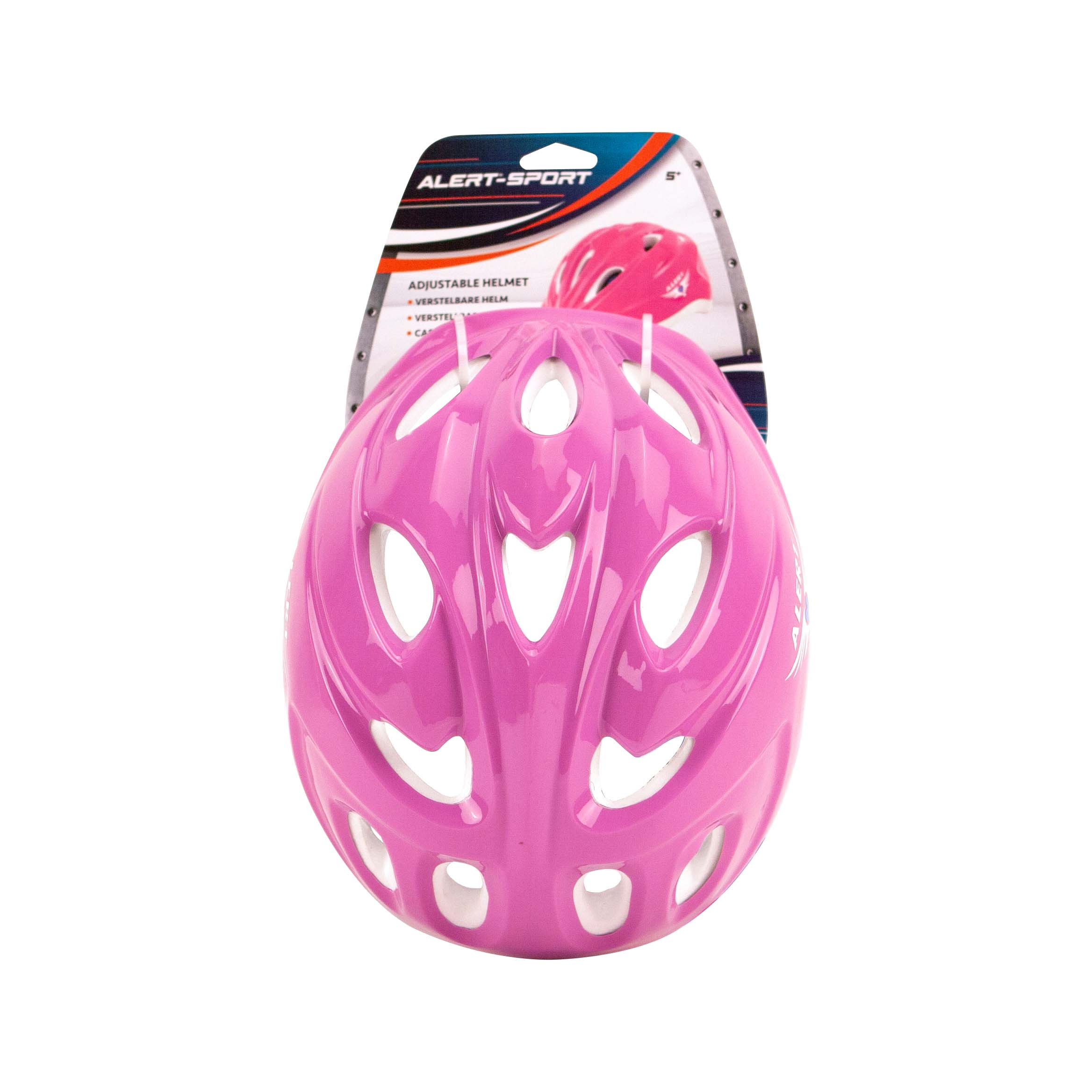 Helm Verstelbaar Roze Alert