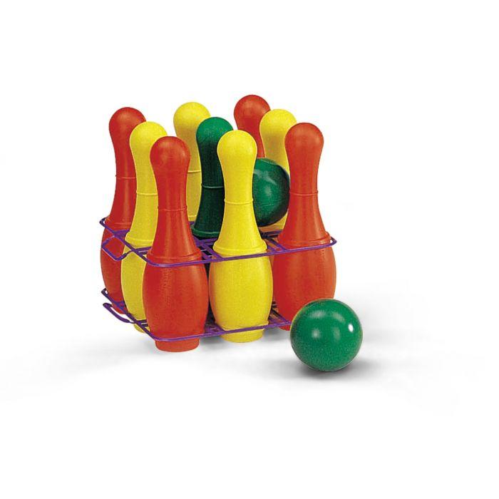 Kegelspel 11-delig M. 9 Pylonnen En 2 Ballen