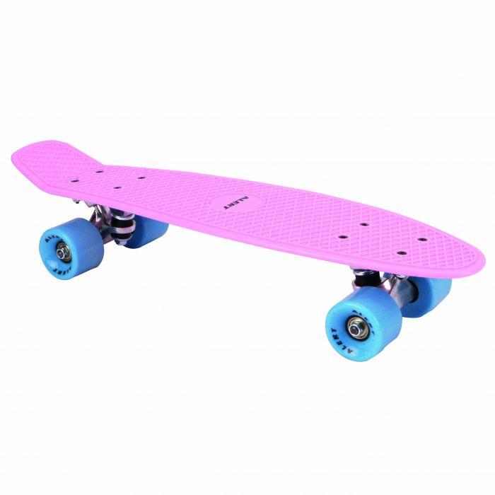 Skateboard Neon Roze 55 Cm ABEC 7 Alert