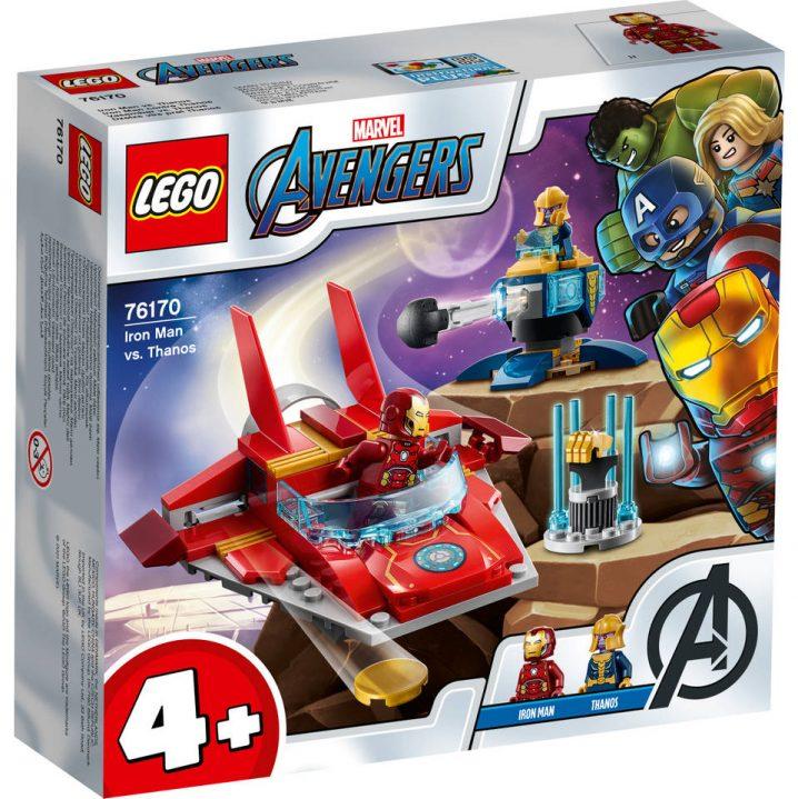 LEGO Marvel Avengers 76170 Iron Man vs. Thanos