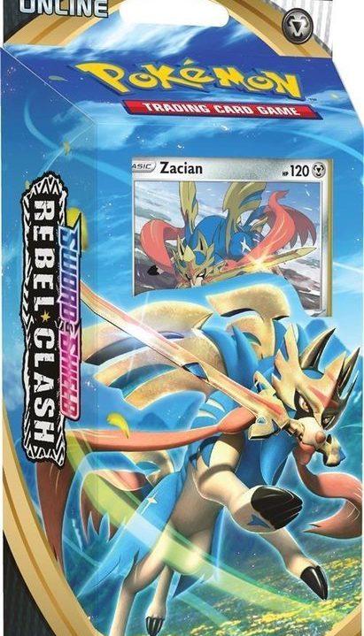 Pokémon Sword & Shield: Tcg Rebel Clash Themedeck Zamazenta