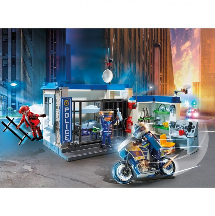 Playmobil 70568 Politie: Ontsnapping Uit De Gevangenis